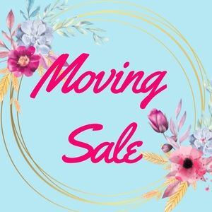 Moving Sale! 🛍🎀